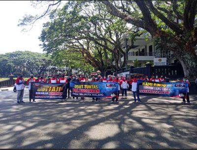 Aliansi Kondangmerak Tuntut Sanksi Tegas Aksi Gowes Rombongan Walikota Malang Ditengah PPKM