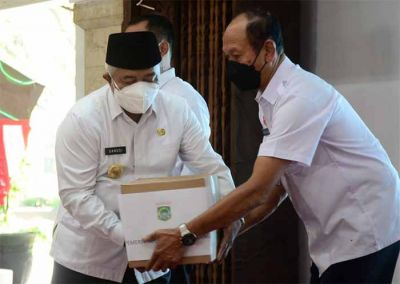 Forkopimda Kabupaten Malang Gelar Doa Bersama dan Salurkan Bantuan