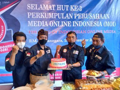 Ini Pesan Penasihat Hukum Organisasi Pers DPC MOI Malang Raya di HUT yang ke-3
