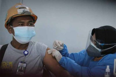 Karyawan Bentoel Group Dapatkan Vaksin Dosis Kedua