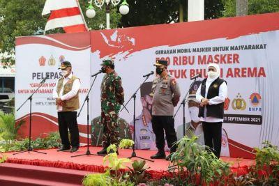 Panglima TNI Bersama Kapolri Gelar Kunjungan Kerja ke Kabupaten Malang