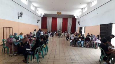 Pemerintah Desa Tumpang Adakan Vaksinasi Jenis Modena 290 Dosis