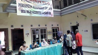 Penyaluran Bantuan Sosial Tunai Tahap 5 dan 6 Tahun 2021 Desa Ngijo