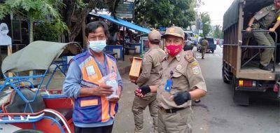 Satpol PP Kabupaten Malang Gelar Operasi Simpatik Masker