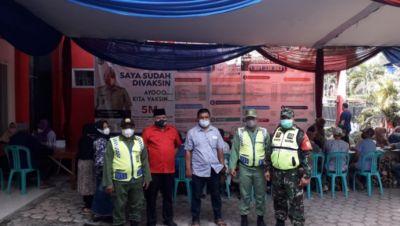 Serbuan Vaksin Terus Bergulir, Kali Ini 1500 Dosis Sinovac di Desa Tambakasri