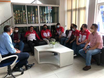 Silaturahmi, LSM LIRA DPD Kabupaten Malang Kunjungi Kantor Satpol PP dan Perusahaan Air Tirta Kanjur