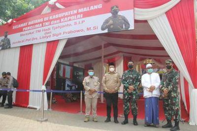 Wabup Malang Dampingi Panglima TNI, Kapolri, dan Kepala BNPB Dalam Rangka Kunker di Kabupaten Malang